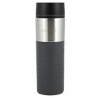 Термокружка Kamille Cortado 420мл, нержавеющая сталь, серый