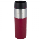Термокружка Kamille Cortado 420мл, нержавеющая сталь, красный