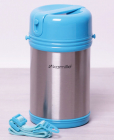 Термос пищевой Kamille Thermos Bottle 2000мл с ремешком