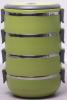 Ланч-бокс Kamille Priori 4 емкости по 700мл (2800мл), 16.5х15х20см