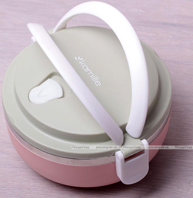 Ланч-бокс Kamille Food Box 1 емкость 700мл, 16.5х15х8см