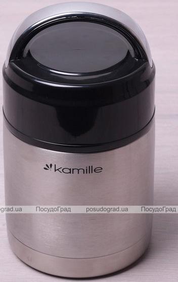 Термос харчовий Kamille Journey 1000мл з нержавіючої сталі