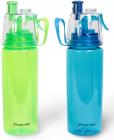 Спортивна пляшка Kamille для води 570мл з розпилювачем