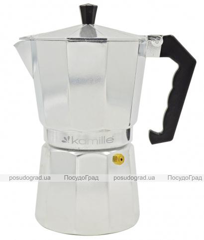Гейзерная кофеварка Kamille на 9 чашек 450мл