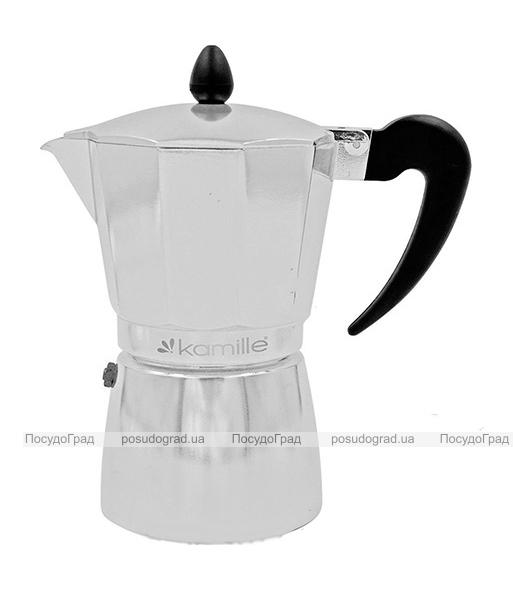 Гейзерная кофеварка Kamille Round Handle на 6 чашек 300мл