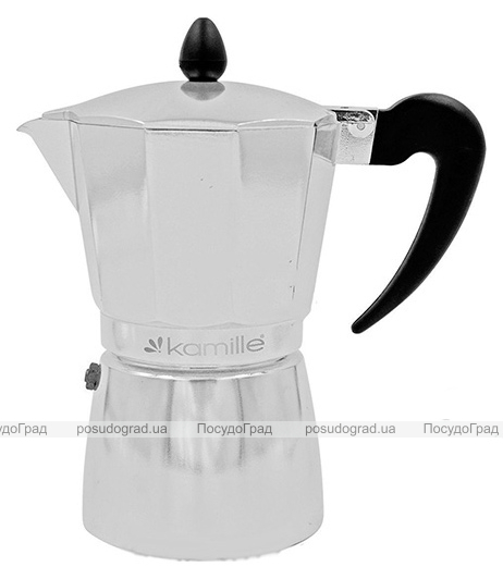 Гейзерная кофеварка Kamille Round Handle на 9 чашек 450мл