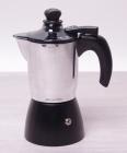Кофеварка гейзерная Kamille Moca Cream 150мл с пенообразователем, индукционная