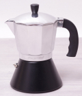 Кофеварка гейзерная Kamille 300мл с широким дном