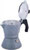Кофеварка гейзерная Kamille Andel Grey 150мл на 3 чашки