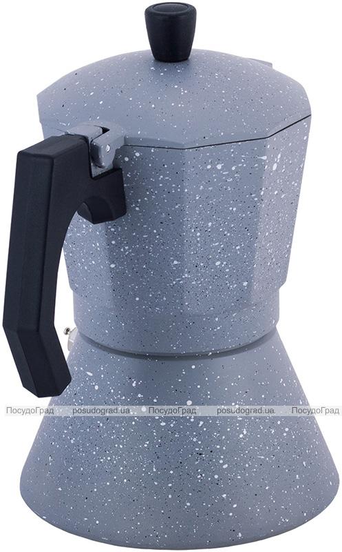 Кофеварка гейзерная Kamille Andel Grey 300мл на 6 чашек