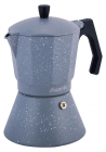 Кавоварка гейзерная Kamille Andel Grey 450мл на 9 чашок