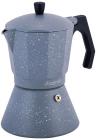 Кофеварка гейзерная Kamille Andel Grey 600мл на 12 чашек