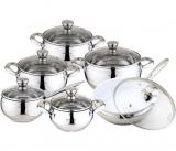 Набор кухонной посуды Kamille Excellent 12 предметов