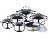 Набор кухонной посуды Fine Assistant 12 предметов