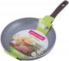 Сковорода Kamille Gregers Grey Ø28см с антипригарным покрытием ILAG