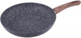 Сковорода Kamille Grey Marble Ø26см індукційна з антипригарним покриттям
