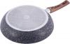 Сковорода Kamille Grey Marble Ø30см індукційна з антипригарним покриттям