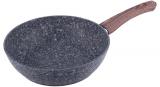 Сковорода-сотейник Kamille Grey Marble Ø28см индукционная с антипригарным покрытием