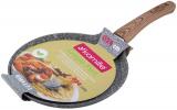 Сковорода для млинців Kamille Grey Marble Ø24см індукційна з антипригарним покриттям