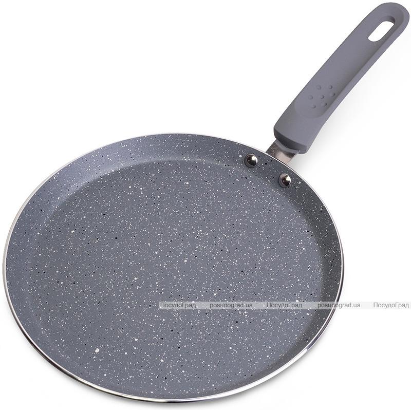 Сковорода блинная Kamille Granite Ø20см с гранитным антипригарным покрытием