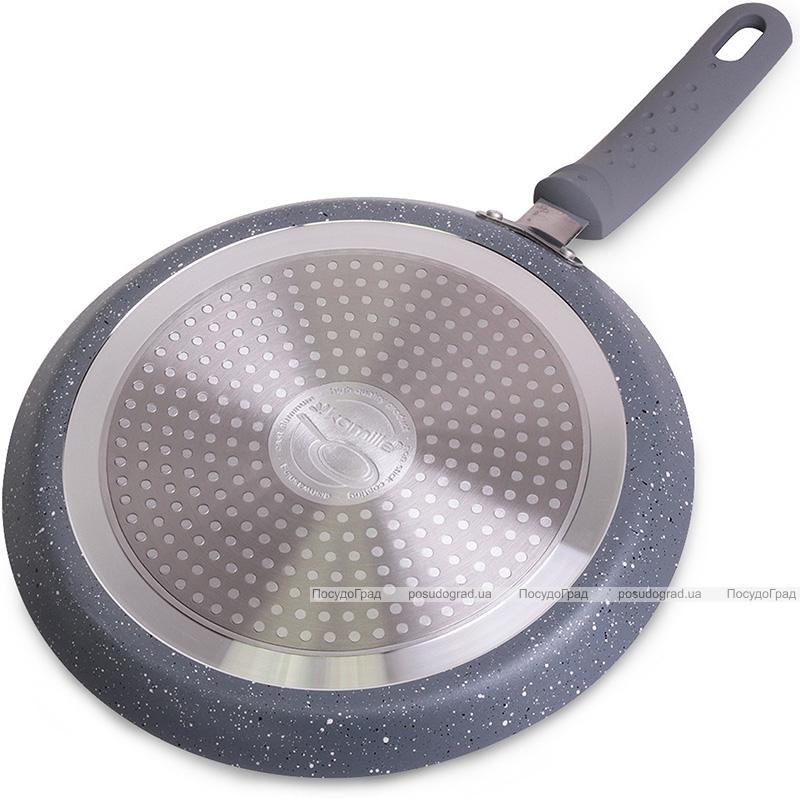 Сковорода блинная Kamille Granite Ø24см с гранитным антипригарным покрытием