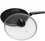 Сковорода Kamille Velbert Ø28см з мармуровим антипригарним покриттям