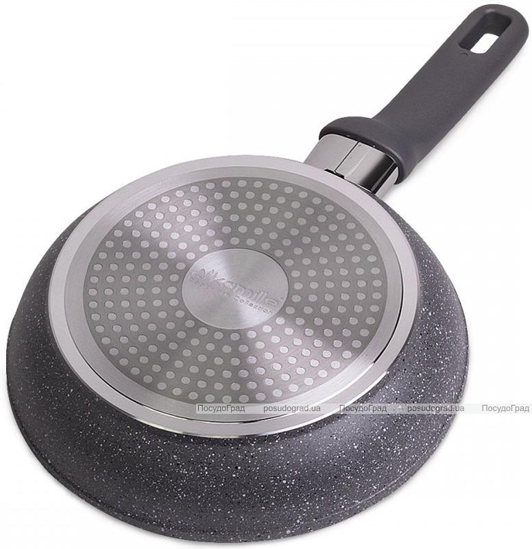 Сковорода Kamille Granite Ø20см з кришкою