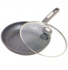 Сковорода Kamille Granite Ø28см с крышкой