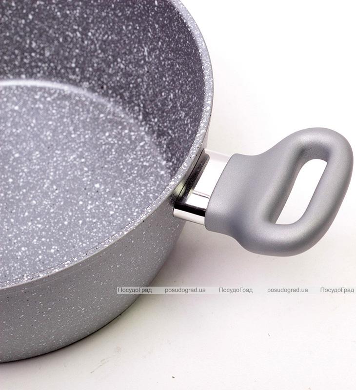 Кастрюля Kamille Grey Gotland 4л с гранитным антипригарным покрытием