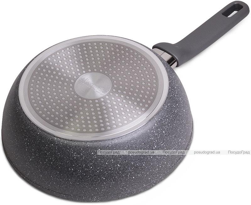 Сковорода-сотейник Kamille Granite Ø30см з гранітним антипригарним покриттям
