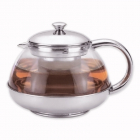 Чайник заварювальний Kamille 600мл скляний з фільтром