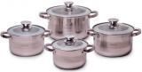 Набор кухонной посуды Kamille Springfield 4 кастрюли с крышками