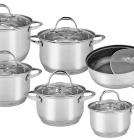 Набор кухонной посуды Kamille Universal Set 12 предметов