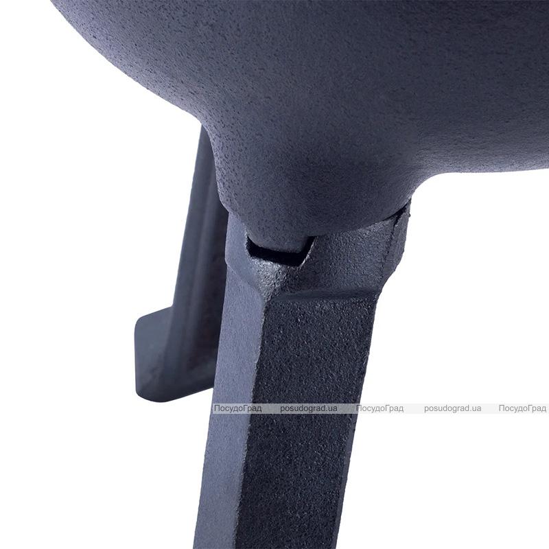 Казан чугунный Kamille Camping 7л эмалированный, на ножках