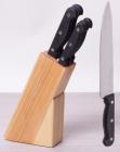 Набір кухонних ножів Kamille Iserlohn 5 ножів на дерев'яній підставці