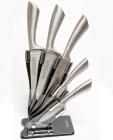 Набор ножей Kamille Steel 5 кухонных ножей на акриловой подставке