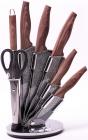 Набор кухонных ножей Kamille Oryen-36 7 предметов на веерной подставке