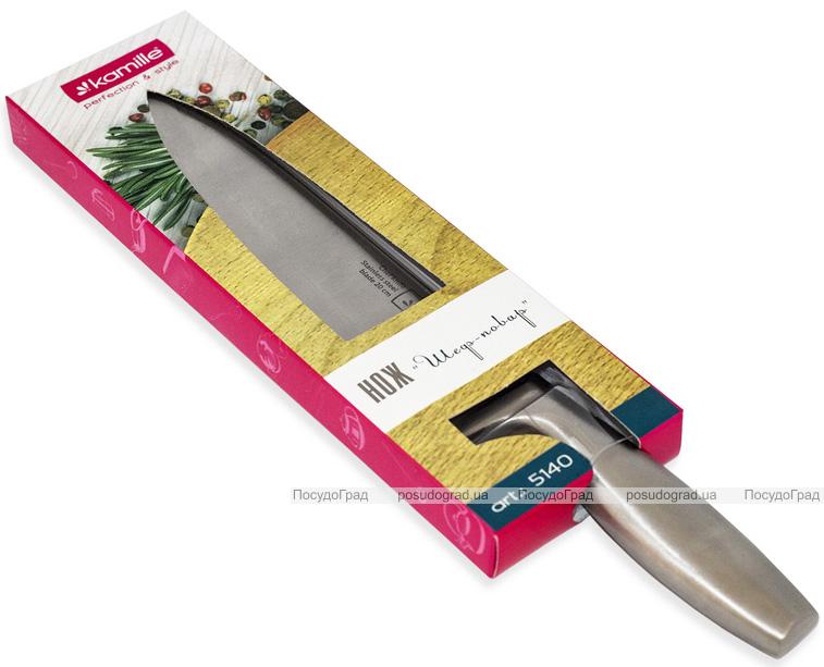 Нож поварской Kamille Perfection&Style 20см