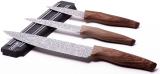 Набір 3 кухонні ножі Kamille Oryen-48 на магнітній планці