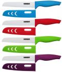 Нож керамический Kamille Miracle Blade для хлеба 15см + чехол цветной