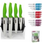 Набор ножей Kamille Ceramics 4 кухонных ножа на акриловой подставке