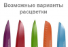 Нож поварской Kamille Antibacterial 15см c антибактериальным покрытием