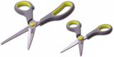 Набір кухонних ножиць Kamille 14см і 21.5см з неслизькими ручками