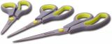 Набір кухонних ножиць Kamille 19.2см, 21.5см та 24.5см з неслизькими ручками