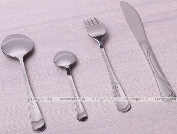 Набір приладів для сервірування Kamille Banquet на 12 персон, 72 предмета в кейсі