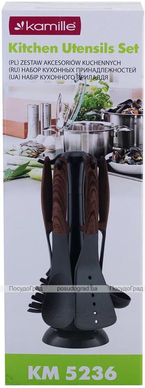 Набор кухонных аксессуаров Kamille Britta 6 предметов на подставке