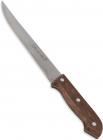Ніж Kamille Eco Force для оброблення м'яса 20см з дерев'яною ручкою