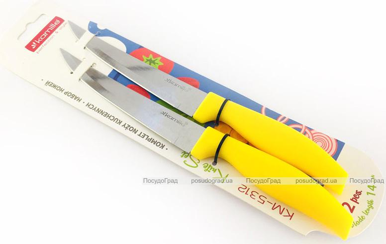 Набор 2 универсальных кухонных ножа Kamille Grakila, 13.5см