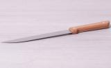 Ніж кухонний Kamille Wood м'ясної 20см з дерев'яною ручкою