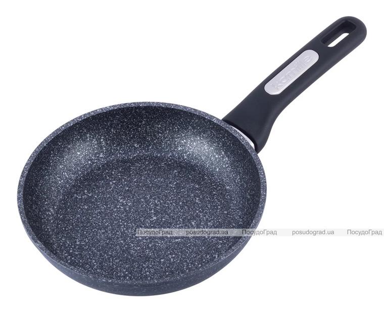 Сковорода Kamille Karelian Ø24см індукційна з мармуровим антипригарним покриттям